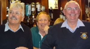 Phil Bennett, Andrew Tarling and George Wagland