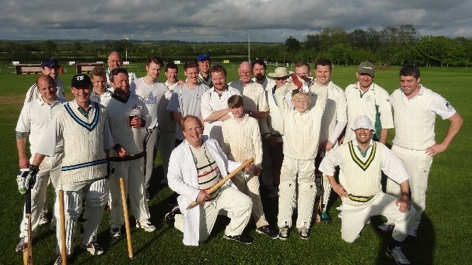 A great day's fun cricket, enjoyed by everyone