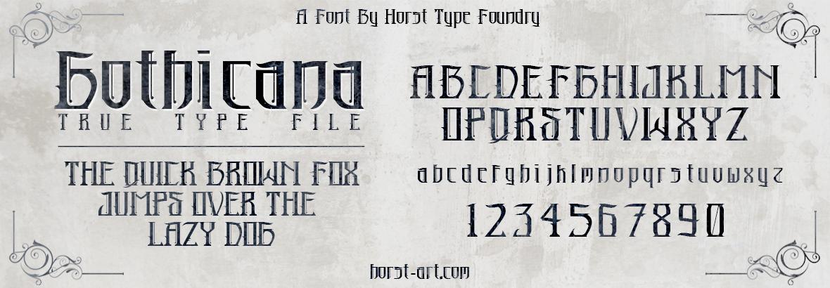 Horst Type Foundry   FONTS