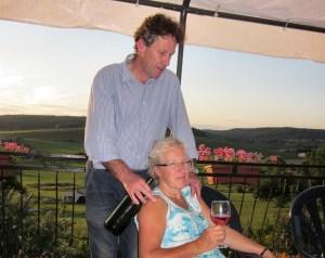 Eric en Jenny Horstman op A-Rigaud, Frankrijk