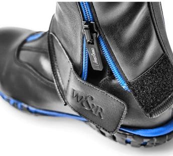 Zoom sur les Chaps Flexi & Boots Dynamik by Sergio Grasso