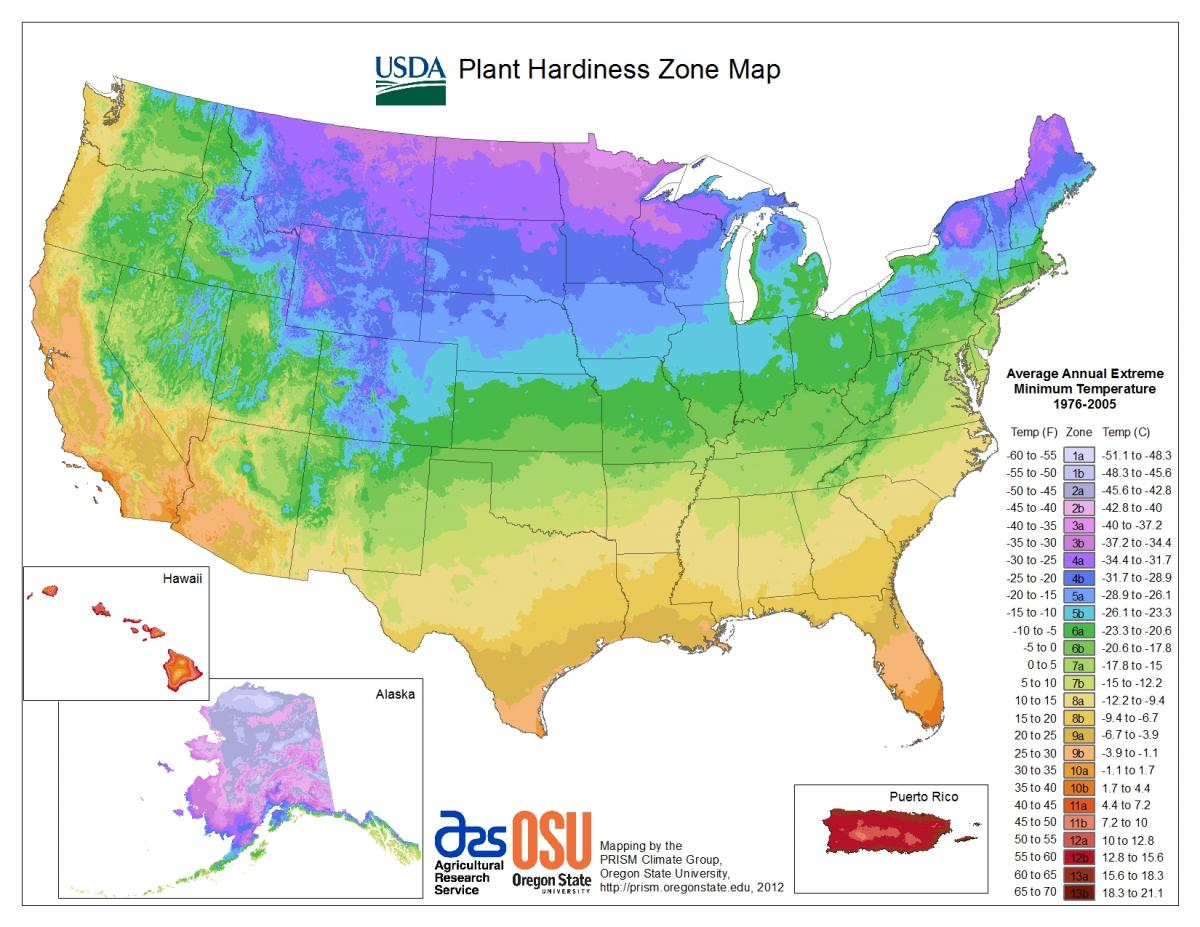 Maps Wisconsin Horticulture