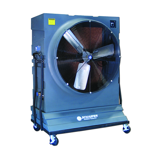 42 Inch Portable Fan : Pro kool portable evaporative cooler with ″ high