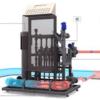A Netafim fertilizer controller unit