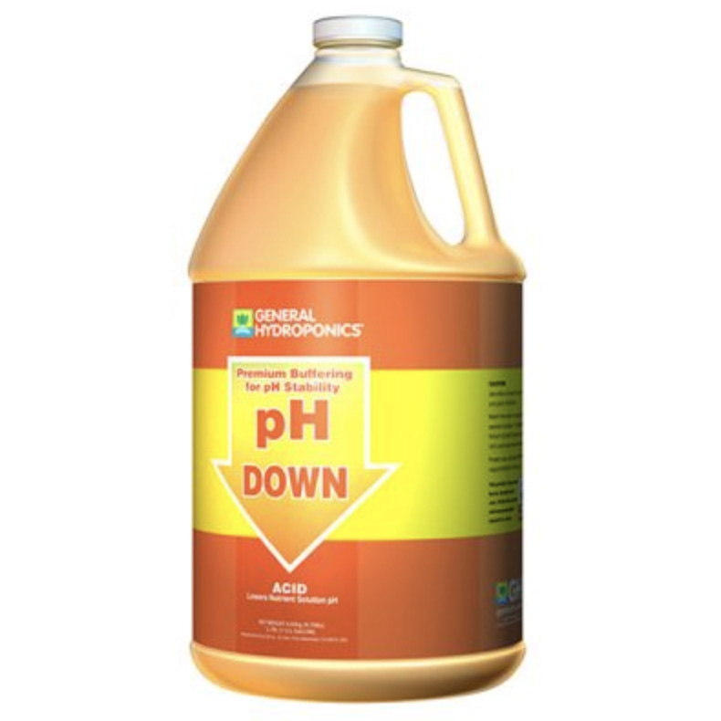 General Hydroponics® pH Down Liquid