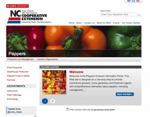 NC Cooperative Extension has invested in making horticulture information easily accessible