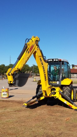 CALS Backhoe Operation Competition