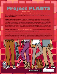 Project PLANTS flyer