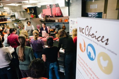 Women in Meat - NC Choices - 2015 Carolina Meat Conference