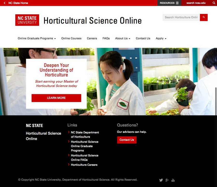 Horticultural Science Online