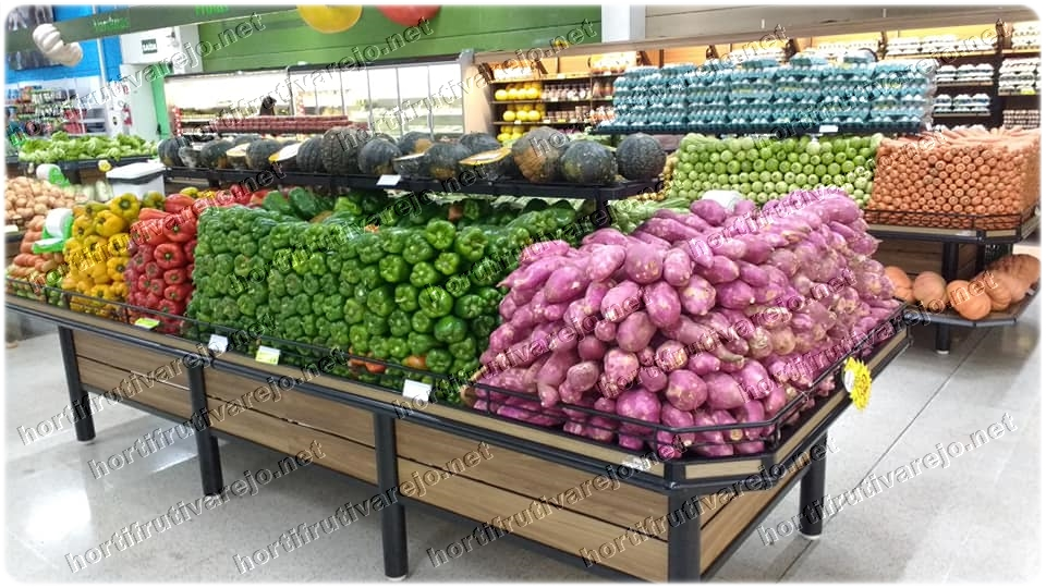 Exposição de legumes