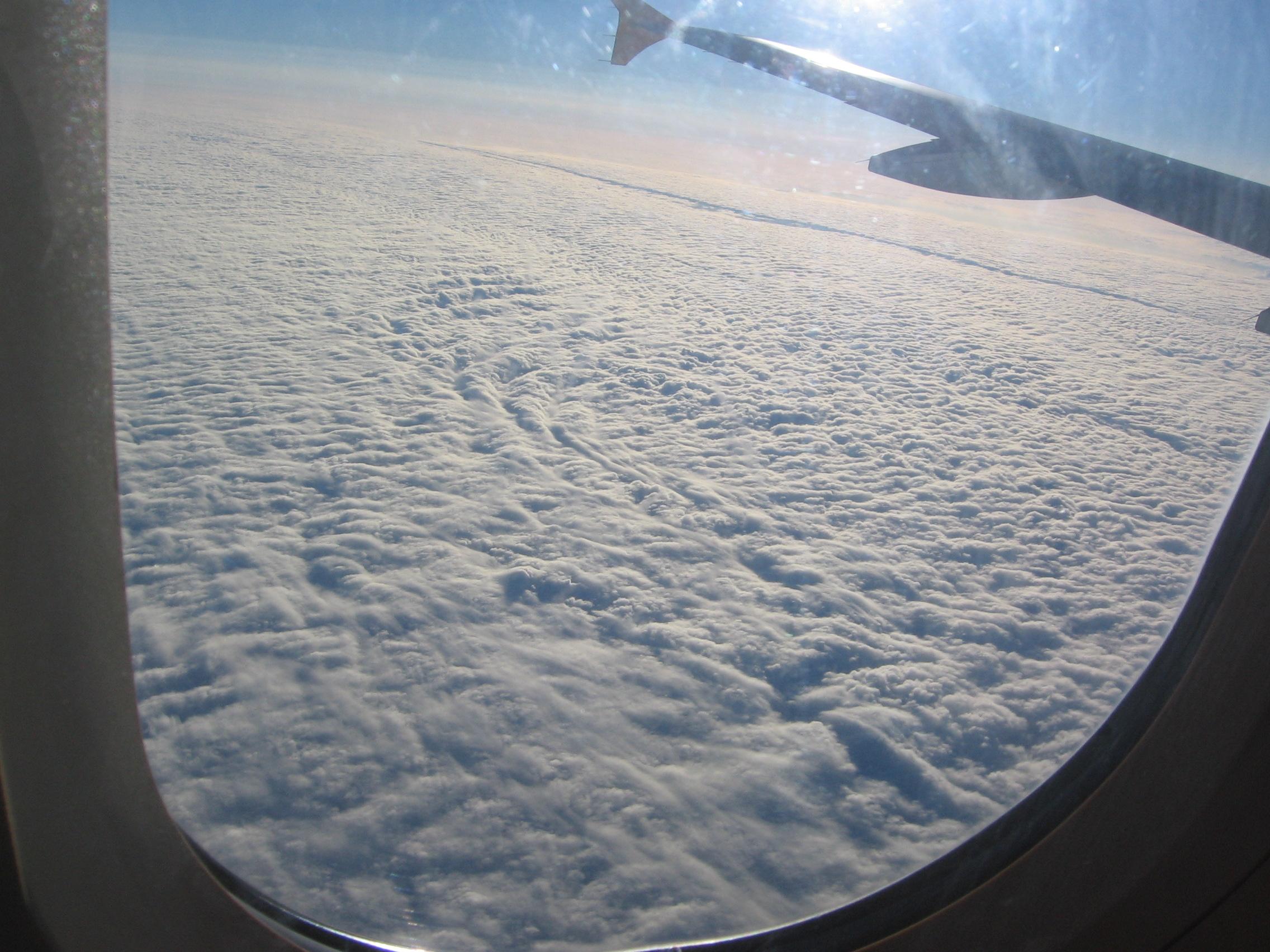 More wool clouds
