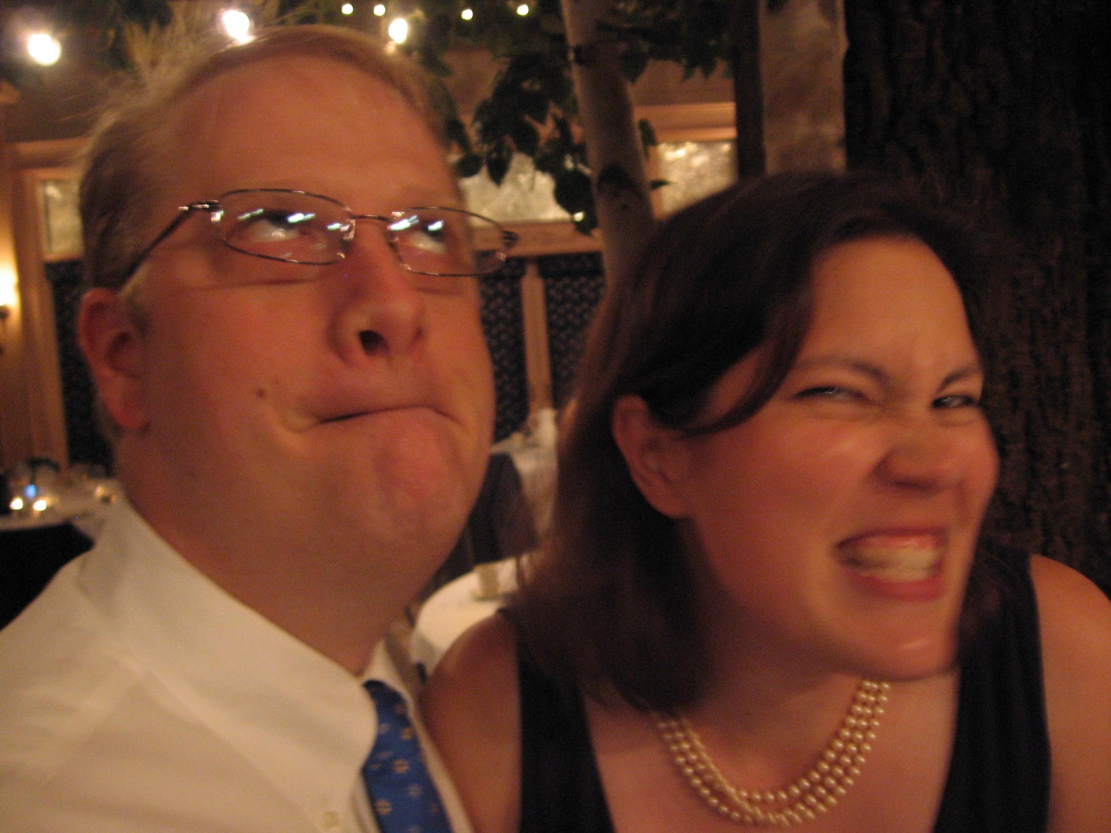 Wedding antics