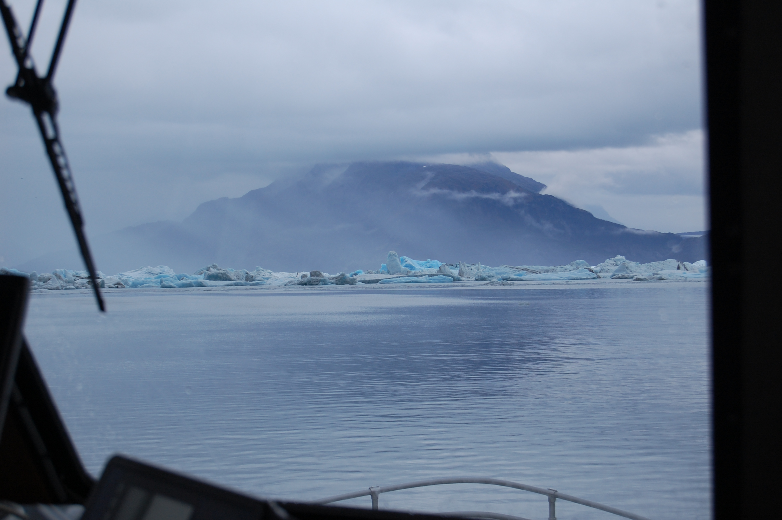 One of the best views was from right behind the captain of the boat.