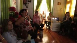 Apresentação da Terapia Comunitária Integrativa no Bairro Progresso – Grupo Sem nome