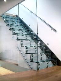 Cantilever Glass Staircase  John Horton Design & Manufacture