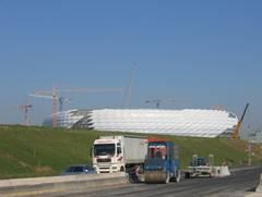 Allianz Arena Stadionbau München 2004