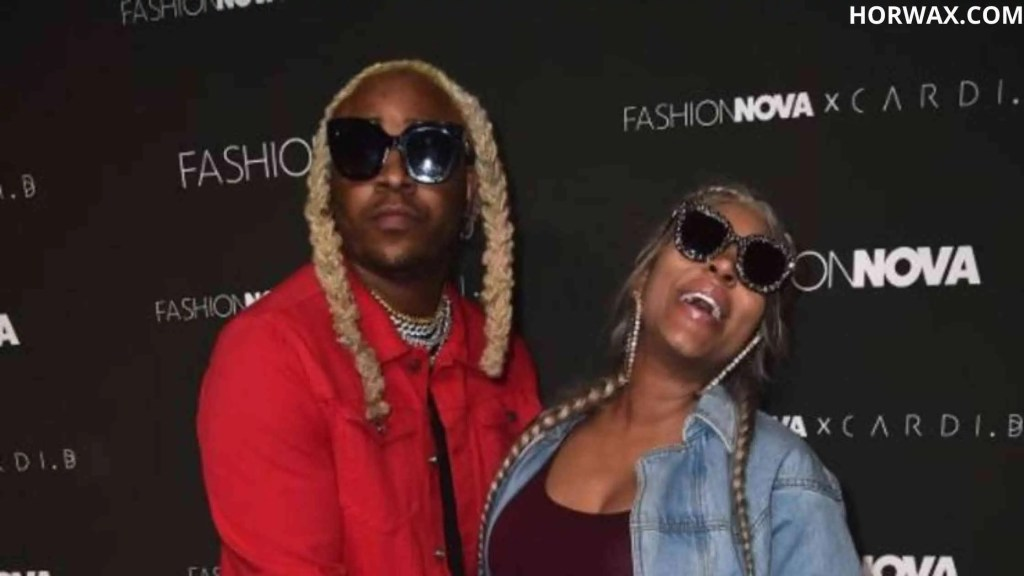 A1 Bentley with his wife Lyrica Anderson