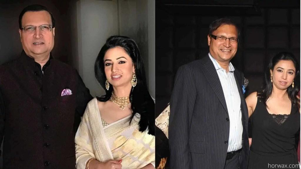 rajat singh with his wife ritu dhawan