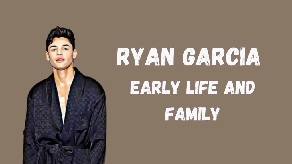 Ryan Garcia Early Life and Family