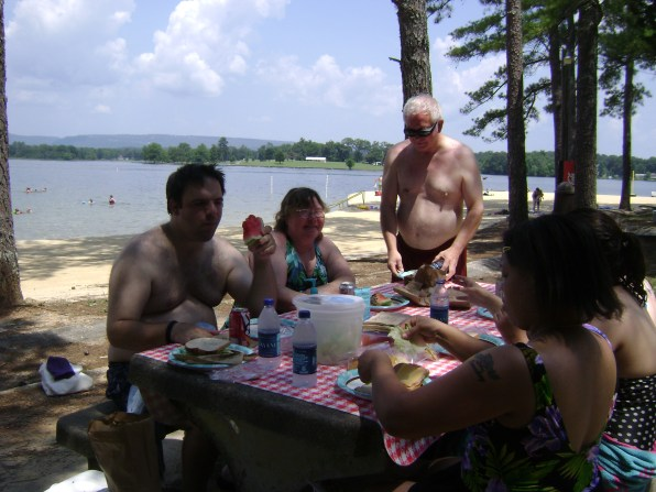 Picnic at Chester Frost Park