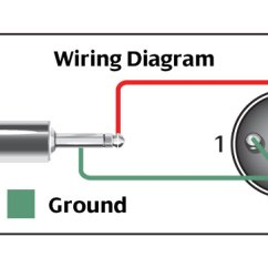 3 5 Mm Jack Wiring Diagram Layers Of Soil Microphone Cable - Hosa Technology