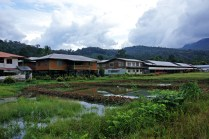 The village of Long Lellang