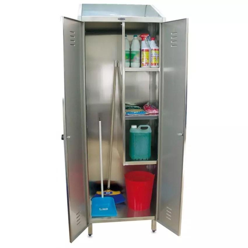 Armario para almacenaje de productos de limpieza