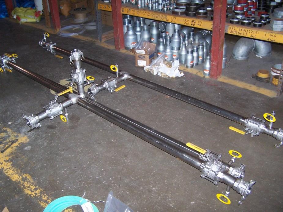 custom pipe fabrication