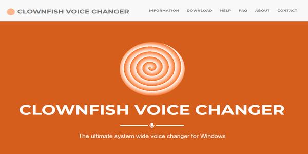clownfishvoice changer