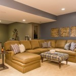 Basement Seating Design