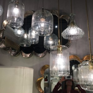 Retro Glas Pendants
