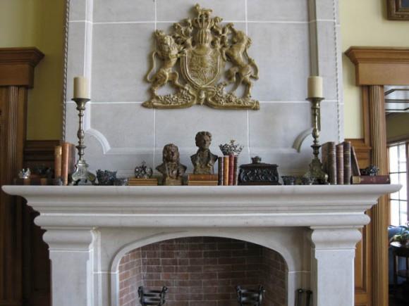 fireplace mantle design