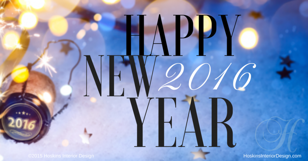 Happy New Year from Hoskins Interior Design!