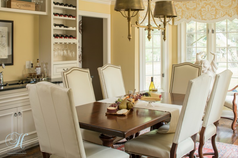 informal dining room design