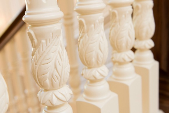 carved balusters