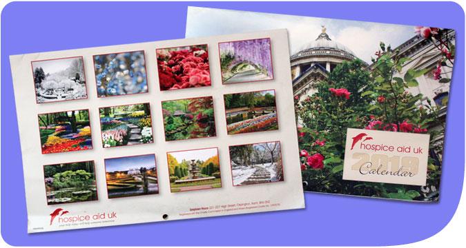 HospiceAid 2019 Calendar now available