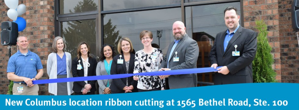 New Columbus location ribbon cutting at 1565 Bethel Road, Ste. 100