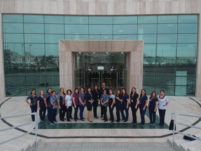 enfermeras y enfermeros de Calama se capacitan en el desafio Nightingale