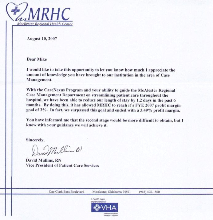 Recommendation Letter For Nurses | Template