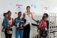Visita Andrea Tovar Señorita Colombia