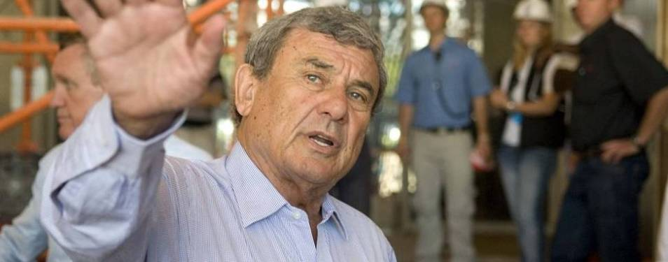 South Africa's greatest businessman of all time is Sun King' Sol Kerzner...