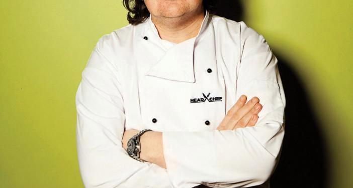 Controversial chef Conrad Gallagher is back on the menu . . . in Qatar...