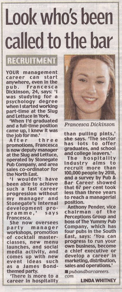 Daily Mail, Fran York, 1.05.2014