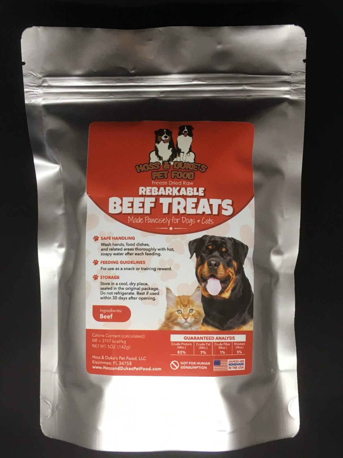 Hoss & Duke's Rebarkable Beef Treats