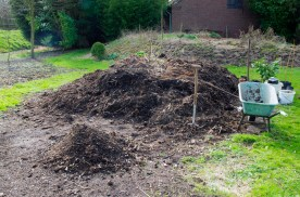 Compost heap getting smaller