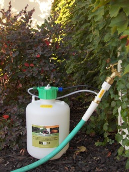 Fertilizer Injector Fertilize Your Garden While You Water
