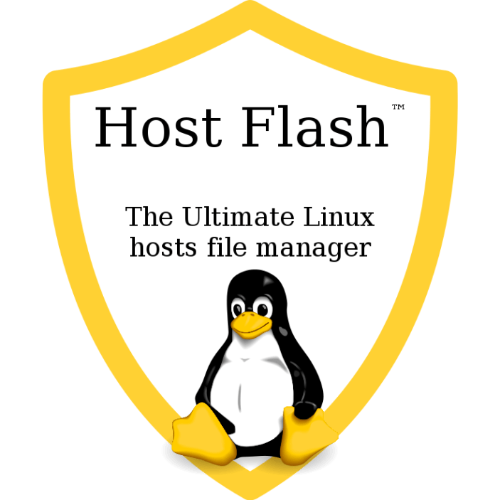 Host Flash™ Logo with Slogan - 737x737