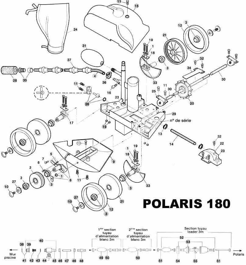 Manchon de remplissage du Flotteur pour robot POLARIS 280