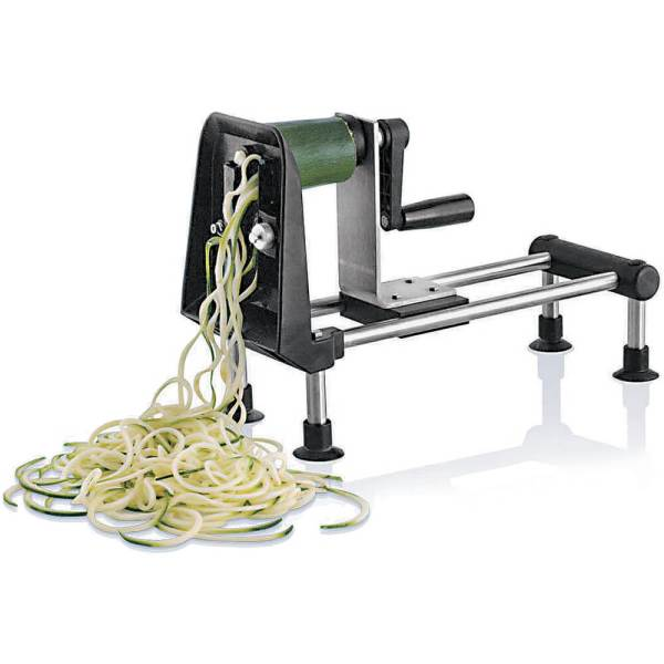 Paderno World Cuisine Steel Rouet Spiral Vegetable Slicer